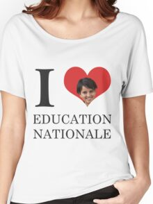 I Love Education Nationale Women's Relaxed Fit T-Shirt