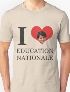 I Love Education Nationale Unisex T-Shirt