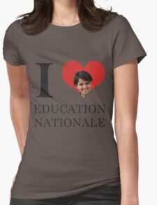 I Love Education Nationale Womens Fitted T-Shirt