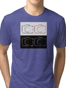 Abstract photography camera Tri-blend T-Shirt
