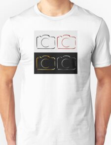 Abstract photography camera Unisex T-Shirt