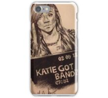 Katie Got Bandz Portrait iPhone Case/Skin