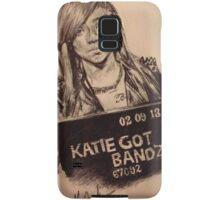 Katie Got Bandz Portrait Samsung Galaxy Case/Skin