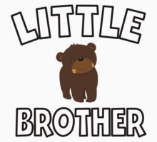 Bear Little Brother Kids Tee