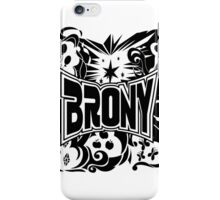 Brony Work Out Shirt iPhone Case/Skin