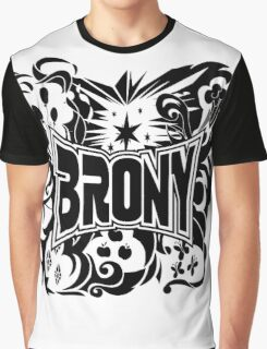 Brony Work Out Shirt Graphic T-Shirt