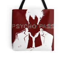 Psycho Pass Shinya Kogami White Tote Bag