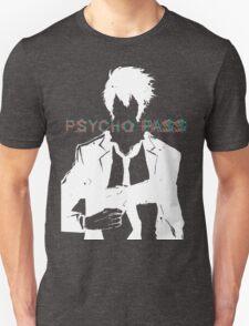 Psycho Pass Shinya Kogami White Unisex T-Shirt