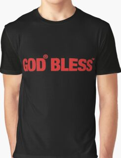 GOD BLESS Graphic T-Shirt
