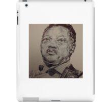 Jesse Jackson Portrait  iPad Case/Skin