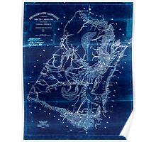 Civil War Maps 0436 Georgetown District South Carolina Inverted Poster