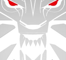 The Witcher 3 Red Eyed Wolf Sticker