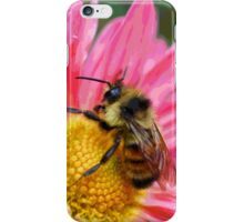 Bumble Bee On Fantasy Flower iPhone Case/Skin