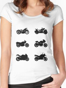 History of BMW Women's Fitted Scoop T-Shirt
