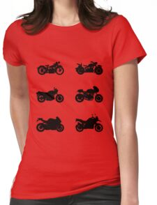 History of BMW Womens Fitted T-Shirt
