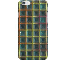 Square holes pattern iPhone Case/Skin