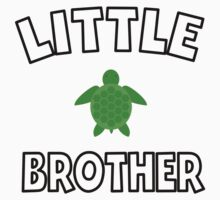 Sea Turtle Little Brother Kids Clothes