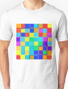 Colorful squares pattern T-Shirt