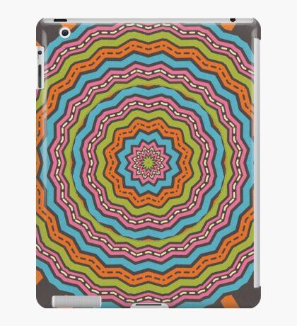 Retro kaleidoscope iPad Case/Skin