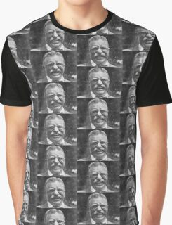 Theodore 'Teddy' Roosevelt Laughing Graphic T-Shirt
