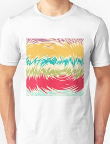 Colorful whirlpool Unisex T-Shirt