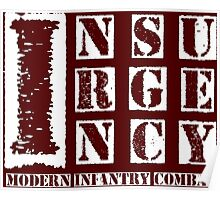 Insurgency White Poster