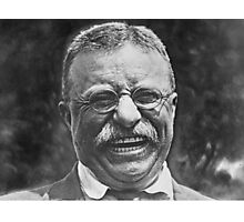 Theodore 'Teddy' Roosevelt Laughing Photographic Print