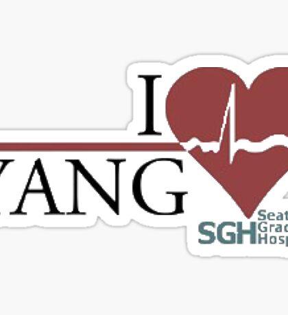Grey's Anatomy - Yang  Sticker