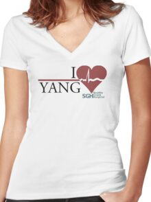 Grey's Anatomy - Yang  Women's Fitted V-Neck T-Shirt