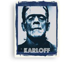 Boris Karloff Canvas Print