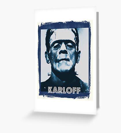 Boris Karloff Greeting Card
