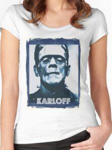 Boris Karloff Women's Fitted Scoop T-Shirt
