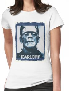 Boris Karloff Womens Fitted T-Shirt