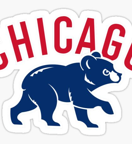 Chicago Cubs  Sticker