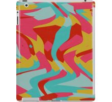 Retro shapes iPad Case/Skin