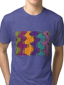 Colorful spots Tri-blend T-Shirt
