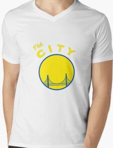 Golden State Warriors Retro Mens V-Neck T-Shirt