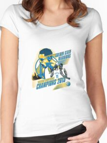 Golden State Warriors 2015 Women's Fitted Scoop T-Shirt