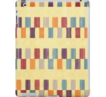 Retro rectangles pattern iPad Case/Skin