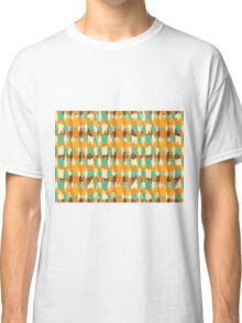 Shredded abstract background Classic T-Shirt