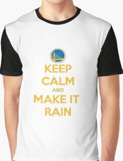 Keep Calm And Meke It Rain Graphic T-Shirt