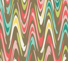 Waves pattern Sticker