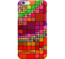 Colorful squares iPhone Case/Skin