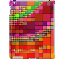 Colorful squares iPad Case/Skin