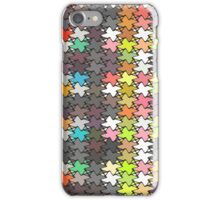 Colorful stars pattern iPhone Case/Skin