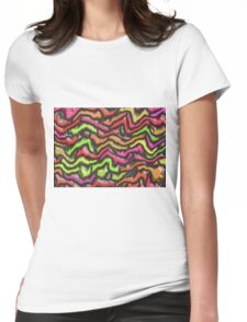Earthquake Womens Fitted T-Shirt