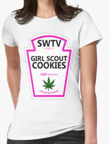 Girl Scout Cookies (Heinz Parody) Womens Fitted T-Shirt