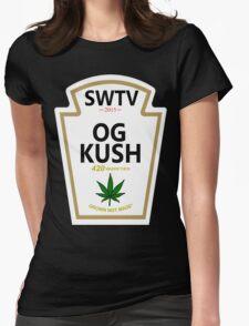 OG Kush (Heinz Parody) Womens Fitted T-Shirt