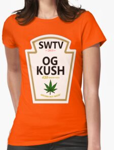 OG Kush (Heinz Parody) Womens Fitted T-Shirt