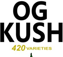 OG Kush (Heinz Parody) Sticker